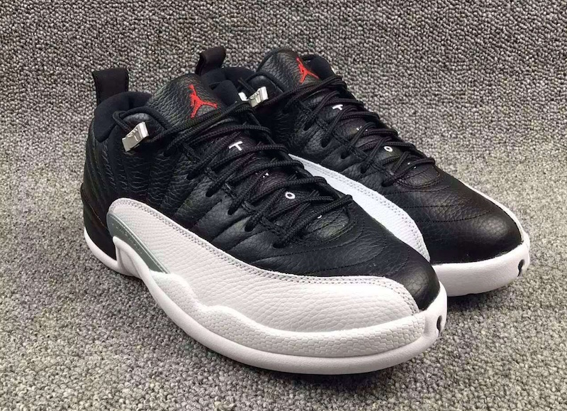 jordan 12 low playoffs