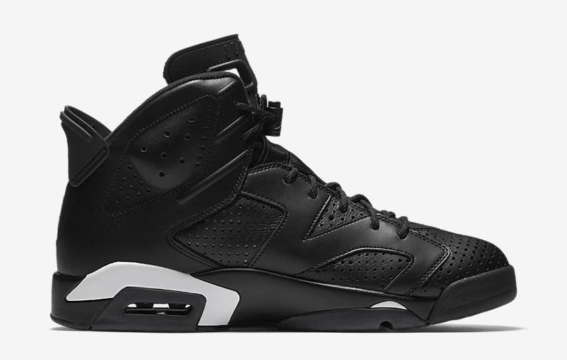 jordan 6 black and white