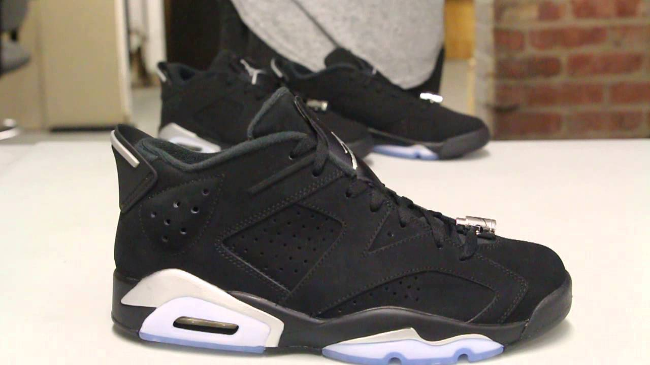 jordan 6 low chrome