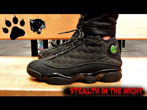 jordan retro 13 black cat