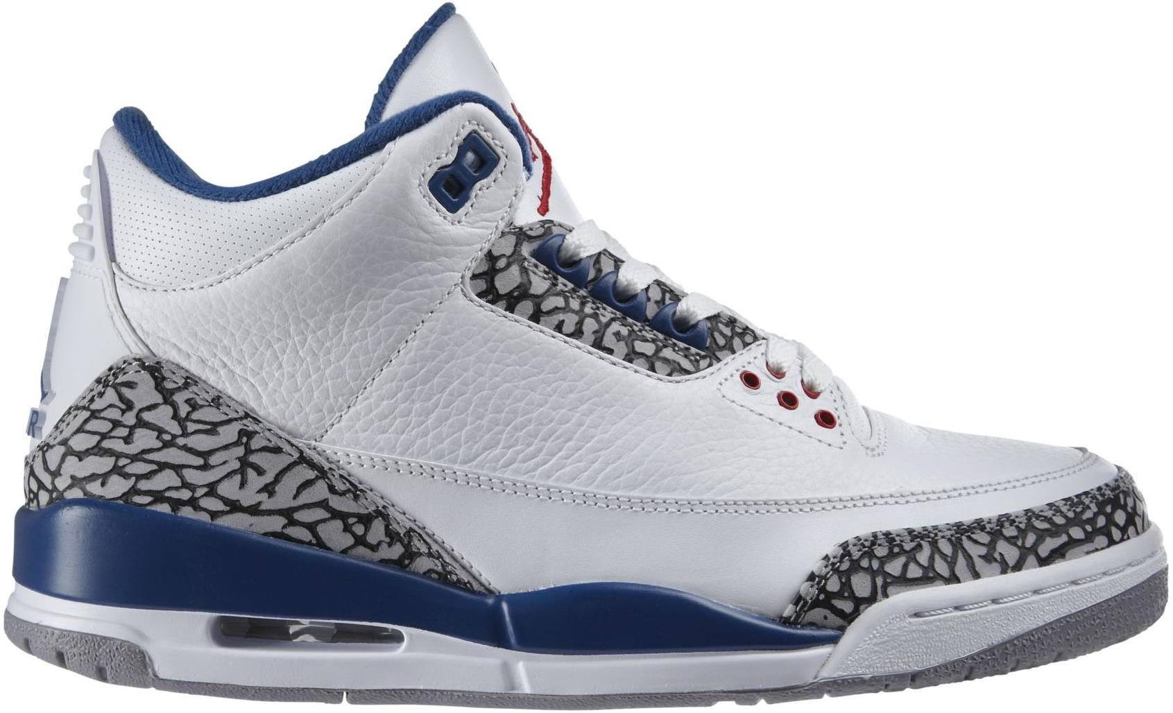 jordan retro 3 true blue