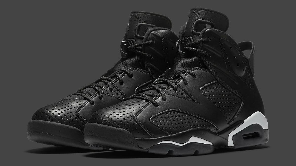 jordan retro 6 black cat
